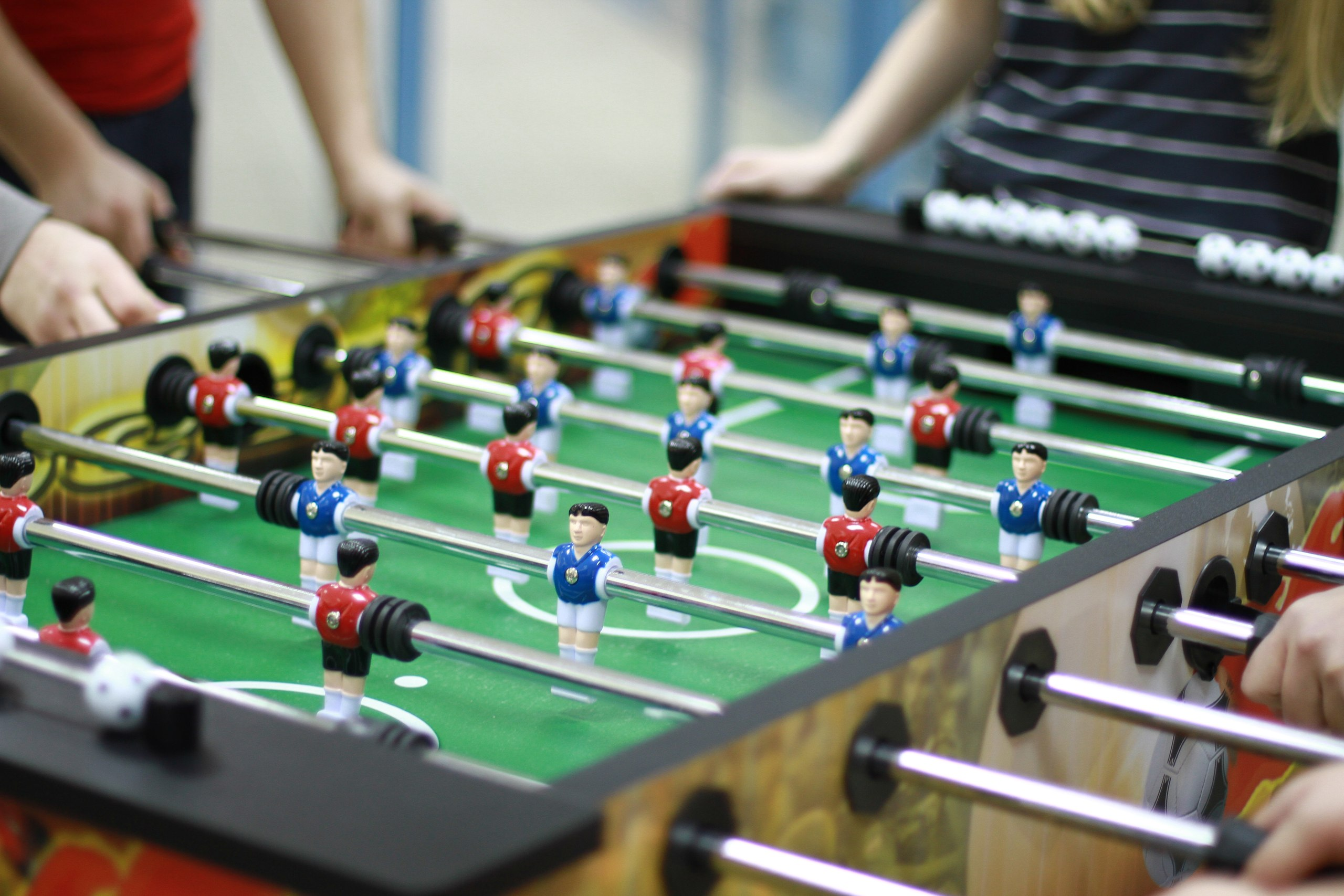 Рыцари футбольного стола
